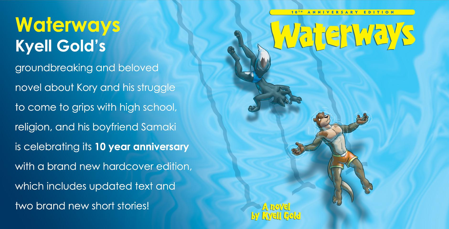 Kyell Gold's Waterways, new tenth anniversary edition