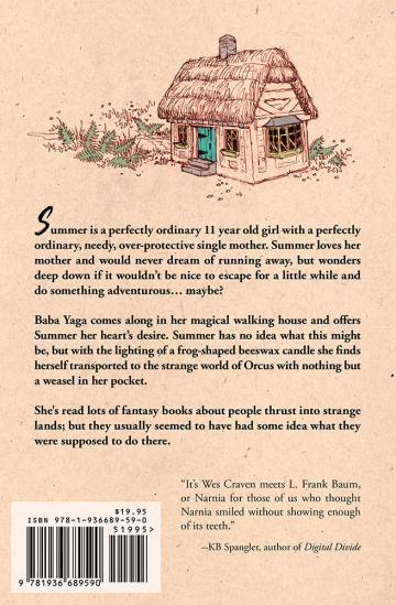 Summer in Orcus by T. Kingfisher, back cover (softcover edition)