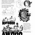 AV-Tani page #16, Awooo product development